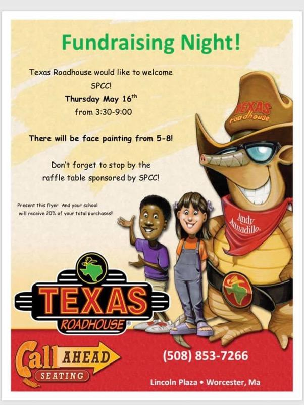 Texas Roadhouse Fundraiser Night