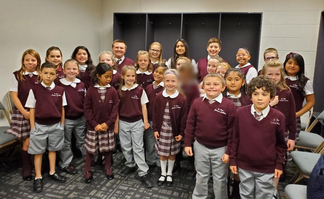 Chorus sings at Opening Night for the Worcester Railers
