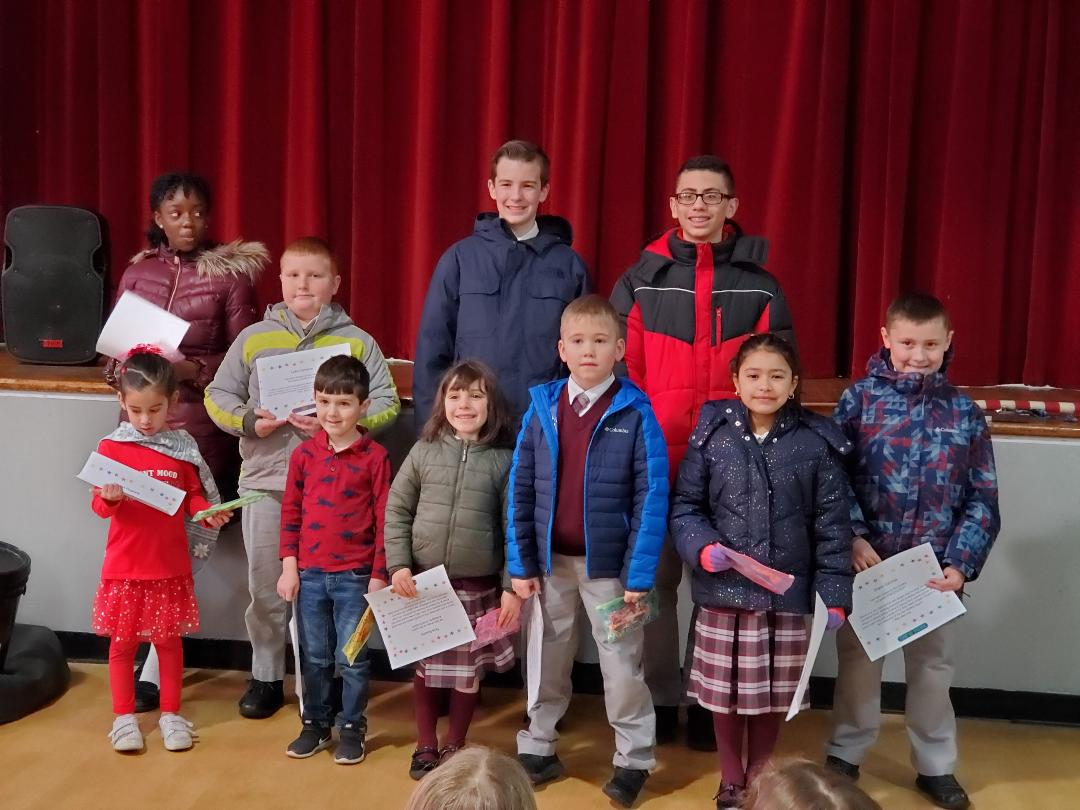 Congratulations January Star Students!